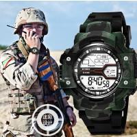时诺刻/SYNOKE 儿童电子手表 迷彩色手表 户外运动手表 生活防水时尚潮流电子手表