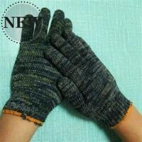 2019搬砖黑色24双浸胶纱布沙工地精细耐磨薄款f工作用的劳保手套