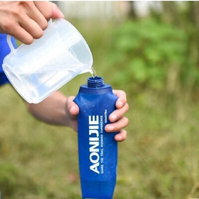 运动软水壶可塑性软水袋可折叠越野跑步水袋250/500ML