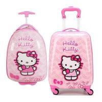 儿童拉杆箱16寸18寸万向轮女宝宝旅行箱可爱卡通女孩登机行李箱子SN6320 16寸蛋形( 送小锁贴纸)