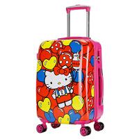卡通儿童拉杆箱万向轮学生行李箱20英寸登机箱 时尚手拉箱多款图案美人鱼蜘蛛侠