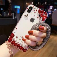 oppo手机壳女款r11Splus全包软壳网红奢华水钻R11水晶钻石潮