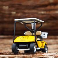 萌味 回力车 儿童玩具车模型玩具高尔夫球车辆合金耐摔摆件