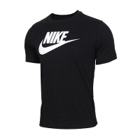 NIKE耐克 男装 运动休闲透气训练短袖T恤 AR5005-010