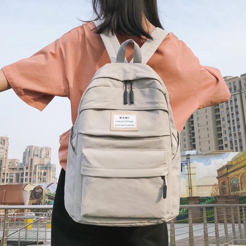 大容量背包女15.6寸电脑包书包女高中大学生双肩包女2019新款