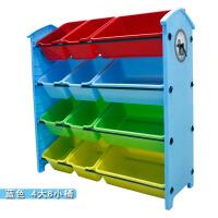 ?宝宝儿童玩具收纳架箱塑料多层大容量幼儿园整理储物柜子置物架子