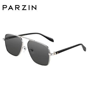 帕森2018新品太阳镜 女士板材金属方框尼龙炫彩镜片潮墨镜 7739