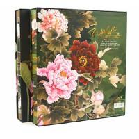 艾尚美 牡丹荷花花卉系列6寸500张 插页相册 2501-1