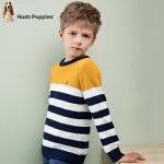 【3折价:107.73元】暇步士童装新款男童时尚条纹拼色线衣