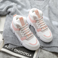 棉鞋子女冬新款冬季运动鞋休闲加绒冬鞋韩版百搭网红学生女鞋