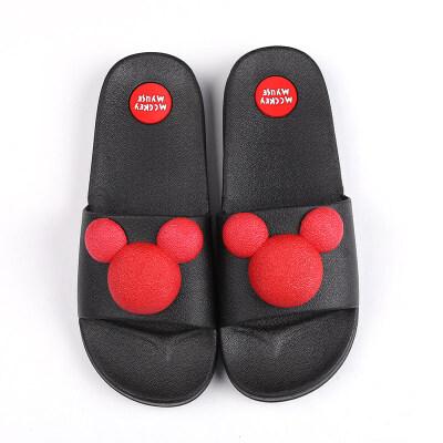 拖鞋女夏可爱情侣家居家用外穿室内防滑浴室时尚男凉拖鞋