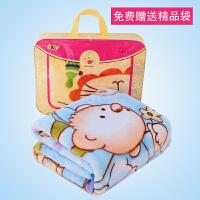 婴儿毛毯 双层加厚冬季用新生儿云毯宝宝小被子儿童小孩毯子柔软