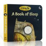 【发顺丰】英文原版 A Book of Sleep 睡眠之书 3-6岁低幼儿童启蒙睡前阅读故事