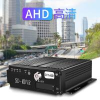 货车倒车影像公交车卡客车四路AHD高清监控套装4路SD卡录像机DVR