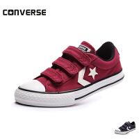 converse/匡威童鞋18新款男女魔术贴低帮帆布鞋专柜同款休闲鞋 (0-4岁可选) 656148C