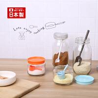 inomata日本进口调味品计量勺奶粉刻度勺烘培工具厨房量勺套装