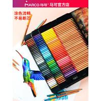 MARCO马可雷诺阿3100油性彩色铅笔36色48色72色100色专业成人马克手绘画画美术绘画笔套装彩色铅笔铁盒装