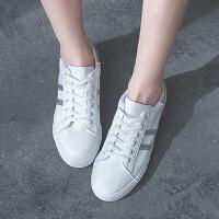 休闲鞋 女士网红ins平底系带小白鞋2020秋季新款韩版时尚女式休闲新潮透气舒适板鞋女鞋子