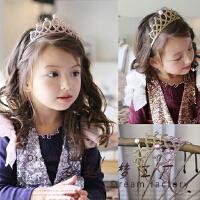 韩国儿童头箍 儿童发饰 儿童发箍头箍 皇冠儿童发箍 儿童头饰新款