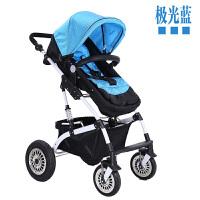 婴儿推车高景观可坐躺双向四轮避震儿童轻宝宝手推车