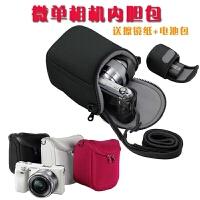 索尼A5000 A5100 A6000 A6300 NEX-5T 5N F3微单相机内胆包