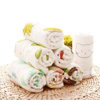 婴儿小毛巾洗脸巾纱布方巾软手绢手帕口水巾