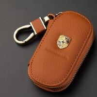 专用于保时捷钥匙包卡宴 Macan Panamera 汽车钥匙套