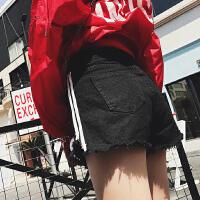 夏季薄款孕妇夏装须须打底裤子孕妇牛仔短裤2018新款外穿破洞潮妈