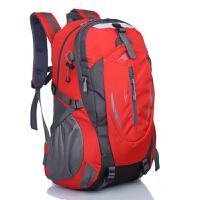 双肩背包 户外大容量登山包男女高中学生旅游出行背包 默认1