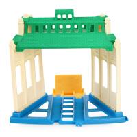 美国托马斯电动系列之车库组合配件动手玩具拼装玩具火车