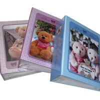博艺8101 小熊款儿童相簿全景大6寸4d100张小相册插页式卡通小熊