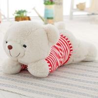 ��意萌趴趴毛�q玩具泰迪熊公仔布娃娃玩偶抱枕�^女生日圣�Q��Y物