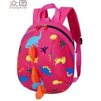小孩1-2-3岁宝宝书包女孩可爱儿童幼儿园双肩包女童背包xx 玫