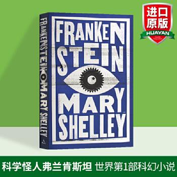科学怪人弗兰肯斯坦 英文原版 Frankenstein 英文版科幻小说 英国经典名著文学小说 玛丽雪莱 Mary Shelley 进口英语书籍 世界第1部真正意义上的科幻小说