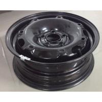 适用于大众新捷达新桑塔纳斯柯达晶锐昕锐POLO14寸轮毂铁圈钢圈 黑色