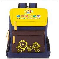 幼儿园书包定做印字印logo儿童小学生书包定制广告培训辅导班背包