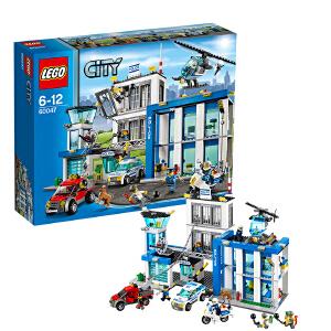 [当当自营]LEGO 乐高 CITY城市系列 警察总局 积木拼插儿童益智玩具 60047
