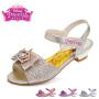 迪士尼Disney童鞋18夏季女童凉鞋中小童蝴蝶结儿童公主鞋 (5-10岁可选) DP0023