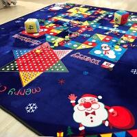 超大号地毯式飞行棋游戏地垫卡通可折叠加厚婴儿客厅爬行垫