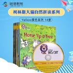 Big Cat Phonics Yellow 大猫自然拼读法3级别幼儿园阶段学习读物 原版进口英文黄色套装全14册4-