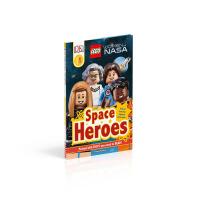 现货 乐高女太空英雄 英文原版 精装LEGO Women of NASA Space Heroes儿童读物分级阅读 DK