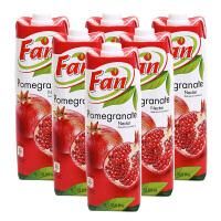 【中粮海外直采】Fan纯果芬石榴汁饮料1L*6(塞浦路斯进口 盒)
