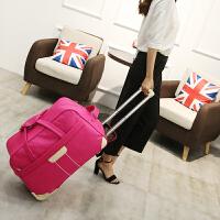 拉杆包旅行包女大容量男手提行李袋旅行袋出行包折叠健身包待产包