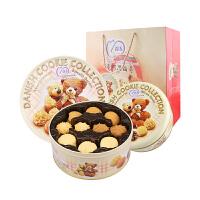 【促销】马来西亚进口麦阿思曲奇饼干400g 混合口味罐装小熊松脆曲奇