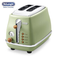 Delonghi/德龙 CTO2003.VGR 家用多士炉吐司机烤面包机