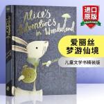 爱丽丝梦游仙境 英文原版 Alice's Adventures in Wonderland Puffin Classi