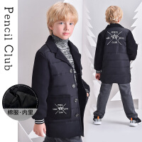 【2件3折�r:99元】�U�P俱�凡客��b2020冬季新款男童�和�卡通棉衣中大童加厚外套保暖