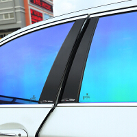 宝马车窗饰条 BC中立柱 新X1X3X5/1系3系5系改装 装饰车贴