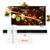 官方品牌授权游戏机G80无线手柄电玩健身娱乐子互动高清电视家用双人体感游戏机 标配+体感双手柄 单机标配