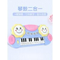 宝宝1-3-6岁男女孩电子琴早教音乐拍拍鼓初学儿童益智小钢琴玩具